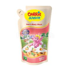 Carrie Junior Hand & Body Wash Refill - Yogurt Apricot