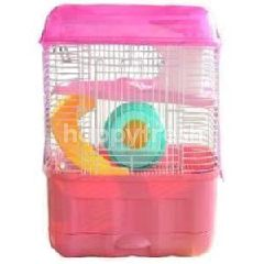 PET DOCTOR Hamster Cages-3 Deck (Pink)