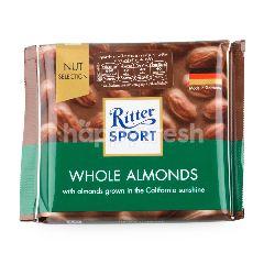 ริทเตอร์สปอร์ต ช็อกโกแลตนม ผสมอัลมอนด์