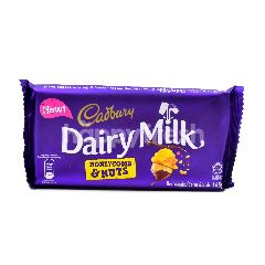 Cadbury Honeycomb & Nuts Dairy Milk Chocolate