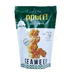 Ppuff! Krekers Beras Mini Rasa Rumput Laut