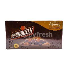 Van Houten Semi Sweet Almonds Dark Chocolate