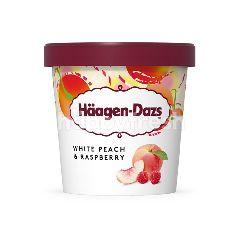 Häagen-Dazs White Peach & Raspberry Ice Cream