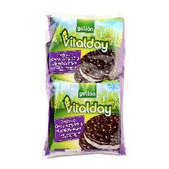 GULLON Vitalday Dark Chooclate Covered Whole Rice Cakes