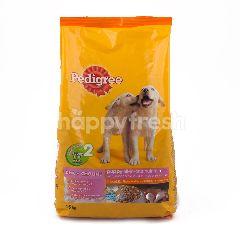 Pedigree Nutrisi Anak Anjing All-in-one Rasa Ayam & Telur