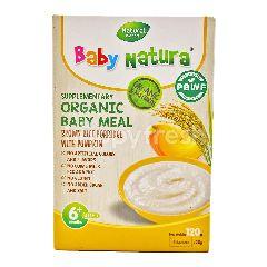 Baby Natura Organic Baby Meal - Brown Rice Porridge With Pumpkin (6 Sachet)