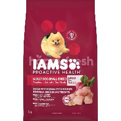 IAMS Dog Dry Food Adult Small Breed 1.5KG Dog Food