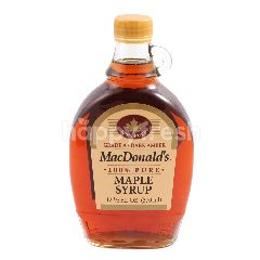 MacDonald's 100% Pure Maple Syrup