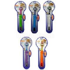 Triple Pet Ez Dog Toothbrush (Triple Head) (Small Breed) (Assorted)