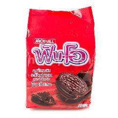 ฟัน-โอ คุกกี้แซนวิชช็อกโกแลต สอดไส้ครีมช็อกโกแลต