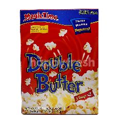 Magic Time Double Butter Premium Microwave Popcorn (3 Bags)