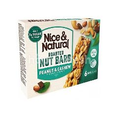 Nice & Natural Roasted Nut Bar Cashew Peanuts