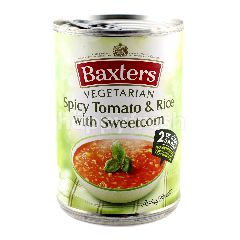 Baxters Vegetarian Spicy Tomato & Rice With Sweetcorn