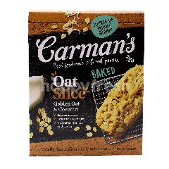 Carman's Baked Golden Oat & Coconut Slice (6 Slices)