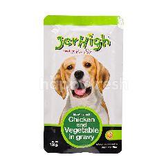 Jerhigh Premium Grade - Chicken And Vegetable In Gravy