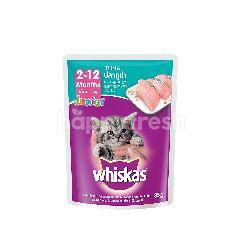 Whiskas Pouch Cat Wet Food Junior Tuna 85G Cat Food