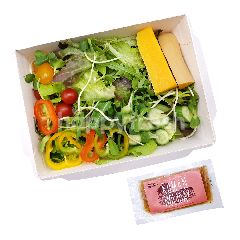Sweet & Green Salad Box Mixed Vegetable With Roman Holiday Dressing