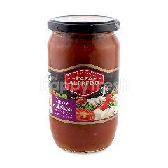 Papa Alfredo Tomato & Mushroom Italian Pasta Sauce