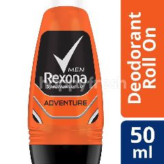 Rexona Men Deodoran Roll-On Motion Sense Adventure