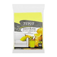 Tesco Mixed Berries Scent Garbage Bags (50 Pieces)