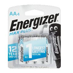 Energizer Max Plus AA (4 Pieces)