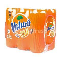 แฟนต้า น้ำอัดลม กลิ่นส้ม 325 มล. (แพ็ค 6)