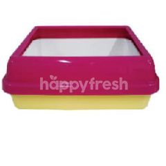 Trustie Cat Litter Pan Gridding With Scoop (Square)