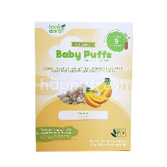 Love Earth Organic Baby Puffs Sprouted Brown Rice With Banana Flavour