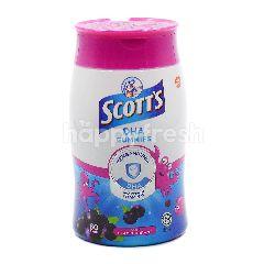 Scott's DHA Gummies Blackcurrant Flavour (60 Gummies)