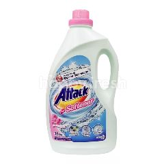 Kao Attack Detergent + Softener 3D Clean Action 3.6KG