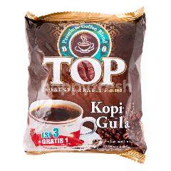TOP Coffee Kopi Arabika dan Robusta Bubuk dengan Gula (4 sachet)