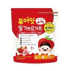 Baby Direct Strawberry And Yogurt Snack