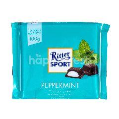 Ritter Sport Cokelat dengan Rasa Peppermint