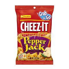 Grab N Go Sunshine Cheez-It Pepper Jack Baked Snack Cracker