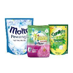 Unilever Rinso, Molto, Sunlight Paket Rumah Bersih 3