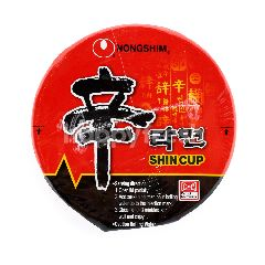 Nongshim Shin Cup Spicy Mushroom Noodle