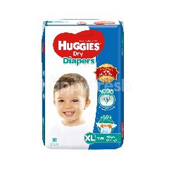 Huggies Dry Super Jumbo Diapers XL48