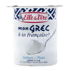 Elle & Vire Nature Plain Greek Style Yogurt