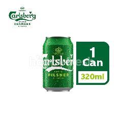 Carlsberg Danish Pilsner Beer Can (320ml)