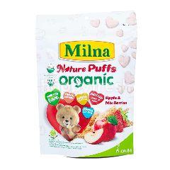Milna Nature Puff Organic Rasa Apel & Aneka Beri