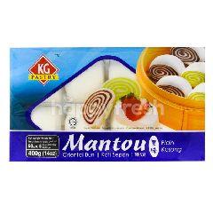 KG Pastry Mantou Plain Oriental Bun