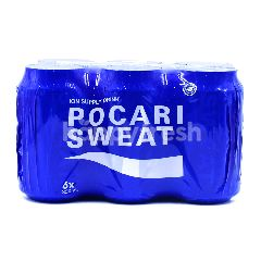Pocari Sweat Isotonic Water (6 Cans)