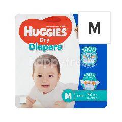 HUGGIES Dry Diapers - M