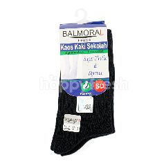 Balmoral England Kaos Kaki Sekolah Spandex Elastis untuk SD Tipe SS 2-012 H