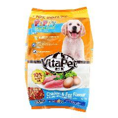 VITAPET Chicken & Egg Flavour For Puppy