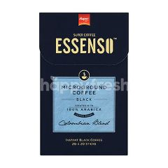 Essenso Microground Instant Black Coffee (20 Sachets)
