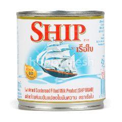 เรือใบ นมข้นแปลงไขมันหวาน