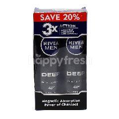 Nivea Nivea Men Dry And Clean Deodorant