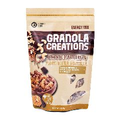 Granola Creations Energy Mix Authentic Toasted Muesli Selai Kacang & Cokelat