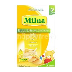 Kalbe Milna Baby Biscuits Banana 6+ Months